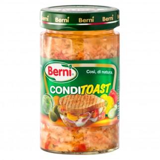 Berni Conditoast Mix di Verdure Sottolio - Vasetto da 290g