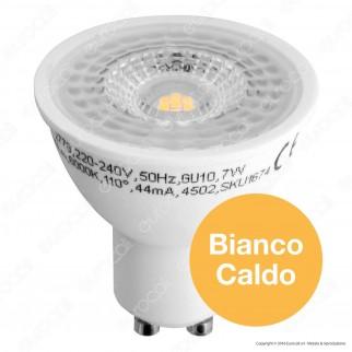 V-Tac VT-2778 Lampadina LED GU10 7W Faretto Spotlight