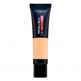 L'Oréal Paris Infaillible 24H Matte Cover Fondotinta Coprente Colore 135 Vanille Éclat