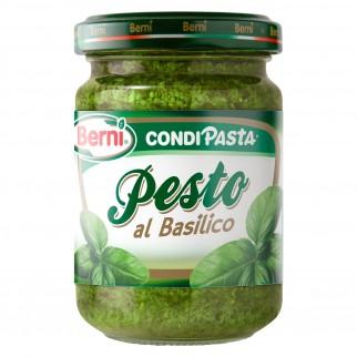 Berni Condipasta Pesto al Basilico - Vasetto da 135g