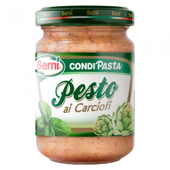 Berni Condipasta Pesto ai Carciofi - Vasetto da 135g