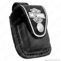 Custodia Zippo Harley-Davidson® in Vera Pelle per Accendini mod. HDPBK Colore Nero [TERMINATO]
