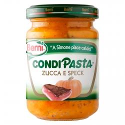 Berni Condipasta Zucca e Speck - Vasetto da 130g
