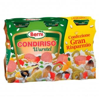 Berni Condiriso Wurstel - 3 Vasetti da 285g