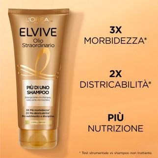 L'Oréal Paris Elvive Olio Straordinario Più di Uno Shampoo - Tubetto da 200ml
