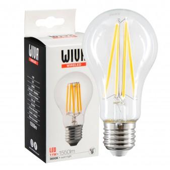Wiva Wireled Lampadina LED E27 11W Bulb A67 Filament - mod. 12100546 / 12100547