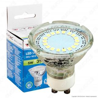 V-Tac VT-1871 Lampadina LED GU10 5W Faretto Spotlight