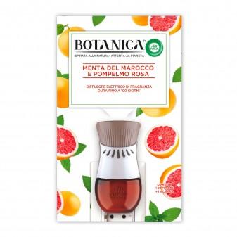 Air Wick Botanica Diffusore Elettrico con Ricarica Menta del Marocco e Pompelmo Rosa