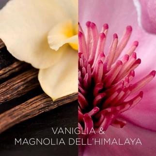 Air Wick Botanica Candela di cera Vaniglia e Magnolia dell'Himalaya