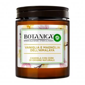 Air Wick Botanica Vaniglia e Magnolia dell'Himalaya Candela con cere di origine naturali