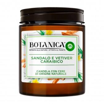 Air Wick Botanica Sandalo e Vetiver Caraibico Candela con cere di origine naturali