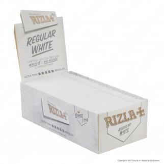 A00017002 - Cartine Rizla White Corte Bianche - Scatola da 50 Libretti