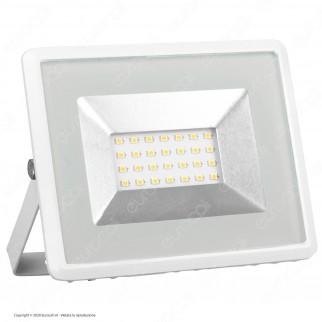 V-Tac VT-4021 E-Series Faro LED SMD 20W Ultra Sottile da Esterno Colore Bianco - SKU 5949 / 5950 / 5951