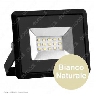 V-Tac VT-4011 E-Series Faro LED SMD 10W Ultra Sottile da Esterno Colore Nero - SKU 5940 / 5941 / 5942