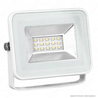 V-Tac VT-4611 I-Series Faretto LED SMD 10W Ultra Sottile da Esterno Colore Bianco - SKU 5898 / 5899 / 5900