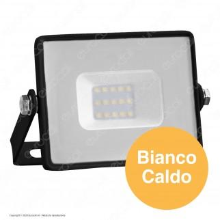 V-Tac PRO VT-10 Faro LED SMD 10W Ultrasottile Chip Samsung da Esterno Colore Nero - SKU 424 / 425 / 426