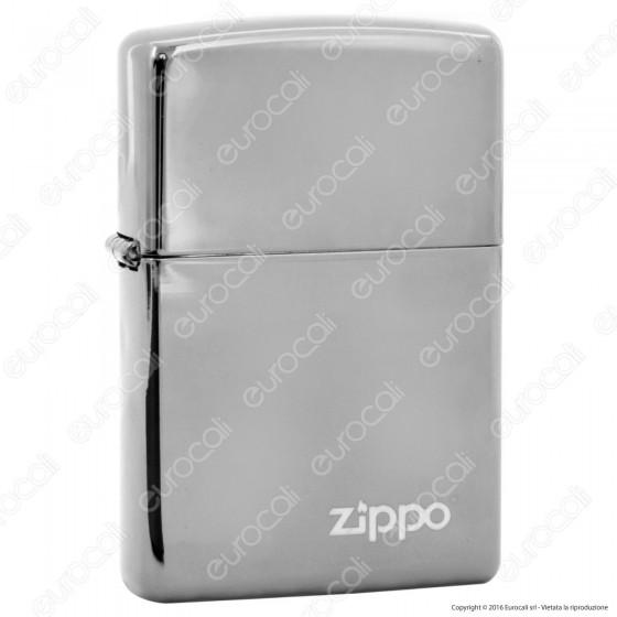 Accendino Zippo Mod. 150ZL Black Ice - Ricaricabile Antivento