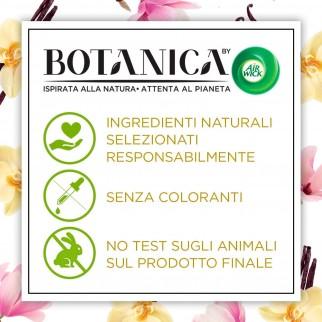 Air Wick Botanica Ricarica per Diffusore Elettrico Vaniglia e Magnolia dell'Himalaya