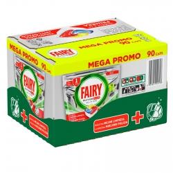 Fairy Platinum Plus All in One Pastiglie al Limone Per Lavastoviglie - Confezione da 90 Capsule
