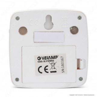 Velamp IL11EVO2 CHIC2 LED Lampada a Batteria con Sensore di Movimento - mod.IL11EVO2