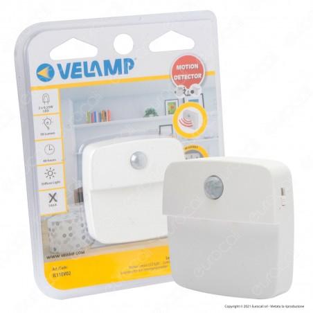 Velamp CHIC2 LED Lampada a Batteria con Sensore di Movimento - mod. IL11EVO2