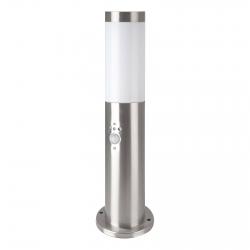 V-Tac VT-838 Lampione Portalampada da Giardino per Lampadine E27 Fissaggio a Terra e Sensore di Movimento IP44 45cm - SKU 8964