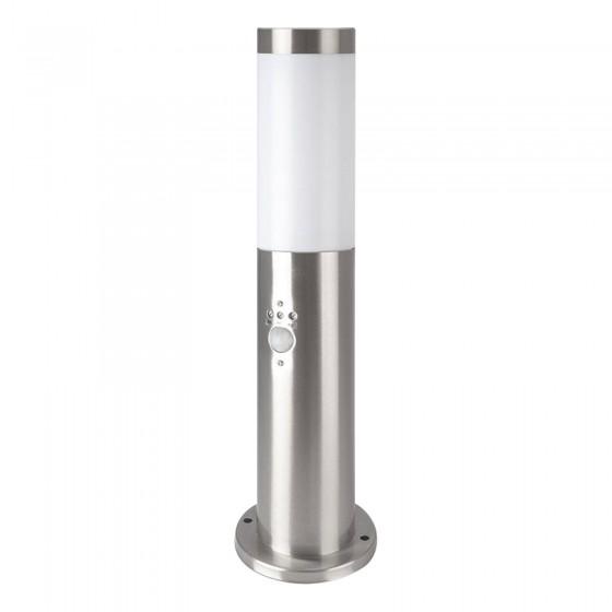V-Tac VT-838 Lampione Portalampada da Giardino per Lampadine E27 con Fissaggio a Terra e Sensore di Movimento IP44 - SKU 8964