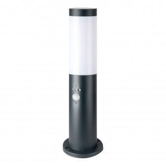 V-Tac VT-838 Lampione Portalampada da Giardino per Lampadine E27 Fissaggio a Terra e Sensore di Movimento IP44 45cm - SKU 8965