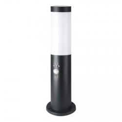 V-Tac VT-838 Lampione Portalampada da Giardino per Lampadine E27 Fissaggio a Terra e Sensore di Movimento IP44 45cm - SKU 8985