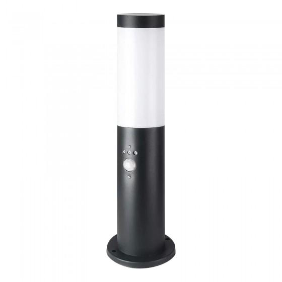 V-Tac VT-838 Lampione Portalampada da Giardino per Lampadine E27 con Fissaggio a Terra e Sensore di Movimento IP44 - SKU 8985
