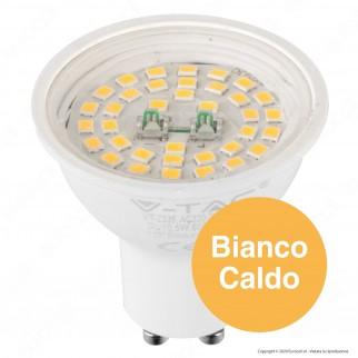 V-Tac Evolution VT-2335 Lampadina LED GU10 5W Faretto Spotlight 110° - SKU 2837 / 2838