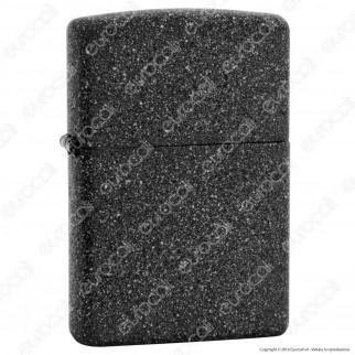 Accendino Zippo Mod. 211 Iron Stone - Ricaricabile Antivento
