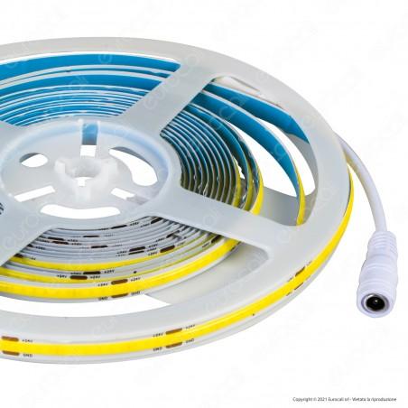 V-Tac VT-COB-280 Striscia LED COB Monocolore 10W/M 24V - Bobina da 5 metri - SKU 2652 / 2653 / 2654