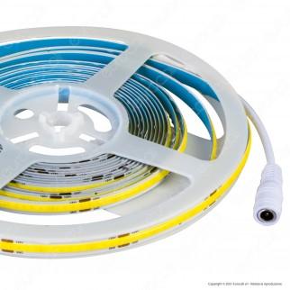 V-Tac VT-COB-280 Striscia LED COB Monocolore CRI≥80 10W/M 24V - Bobina da 5 metri - SKU 2652 / 2654