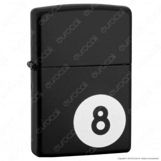 Accendino Zippo Mod. 28432 8-Ball - Ricaricabile Antivento