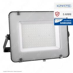 V-Tac PRO VT-150 Faro LED SMD 150W Ultrasottile Chip Samsung da Esterno Colore Nero - SKU 475 / 476 / 477