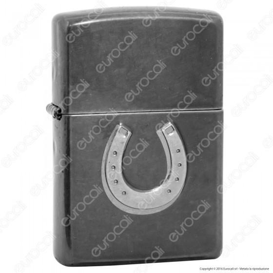Accendino Zippo Mod. 28498 Ferro di Cavallo - Ricaricabile Antivento