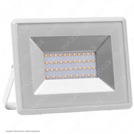 V-Tac VT-4031 E-Series Faro LED SMD 30W Ultra Sottile da Esterno Colore Bianco - SKU 5955 / 5956 / 5957