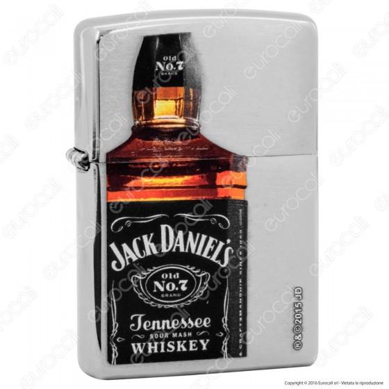 Accendino Zippo Mod. 28842 Jack Daniel's® Bottle - Ricaricabile Antivento