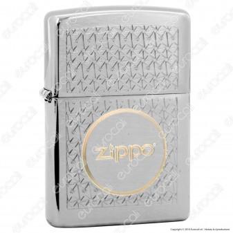 Accendino Zippo Mod. 14N003 Zippo In Circle Two Tones - Ricaricabile Antivento