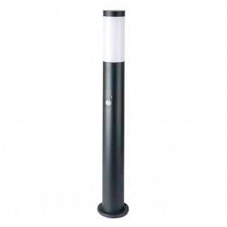V-Tac VT-838 Lampione Portalampada da Giardino per Lampadine E27 Fissaggio a Terra e Sensore di Movimento IP44 80cm - SKU 8966
