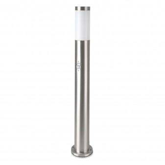 V-Tac VT-838 Lampione Portalampada da Giardino per Lampadine E27 Fissaggio a Terra e Sensore di Movimento IP44 80cm - SKU 8960