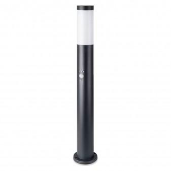 V-Tac VT-838 Lampione Portalampada da Giardino per Lampadine E27 Fissaggio a Terra e Sensore di Movimento IP44 80cm - SKU 8984