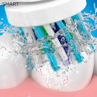 Oral-B Smart 6 6000N Spazzolino Elettrico Ricaricabile Blu con 3 Testine e Custodia