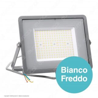 V-Tac PRO VT-106 Faro LED SMD 100W High Lumens Ultrasottile Chip Samsung da Esterno Colore Grigio - SKU 770 / 771