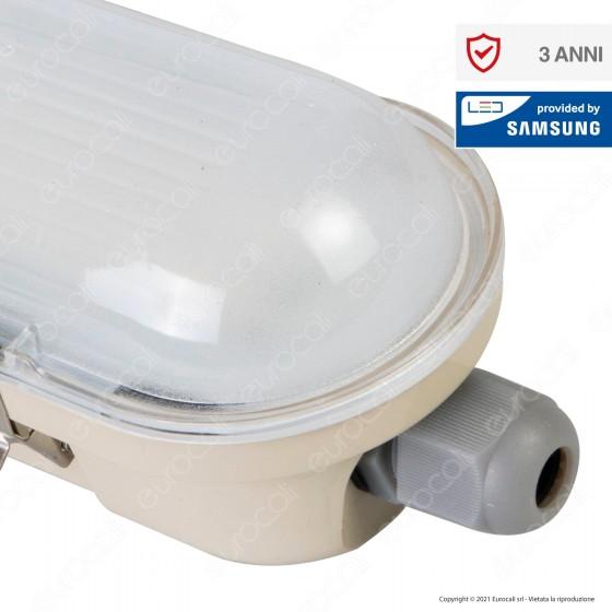 V-Tac VT-150048 Tubo LED Plafoniera M-Series 48W Lampadina 150cm Impermeabile IP65 - SKU 20213 / 20212