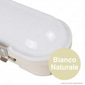 V-Tac VT-150048 Tubo LED Plafoniera M-Series 48W Lampadina 150cm Impermeabile IP65 - SKU 20215 / 20214
