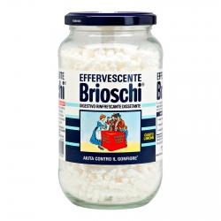 Brioschi Effervescente Digestivo Rinfrescante e Dissetante al Gusto Limone - Barattolo da 250gr