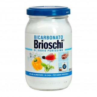 Brioschi Bicarbonato di Sodio Purissimo ad Uso Alimentare e per l'Igiene - Barattolo da 310gr