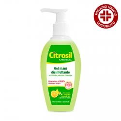 Citrosil Gel Disinfettante Mani Battericida Virucida e Fungicida Limone e Timo Presidio Medico Chirurgico - Flacone 280 ml